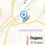 Лукойл-Черноземьенефтепродукт на карте Щёкино