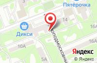 Схема проезда до компании Полиграфиздат в Москве