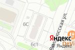 Схема проезда до компании Почтовое отделение №117574 в Москве