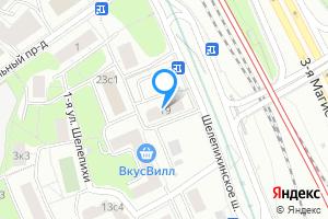 Снять двухкомнатную квартиру в Москве Шелепихинское ш., 19