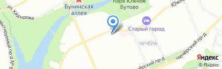 Эмистар на карте Москвы