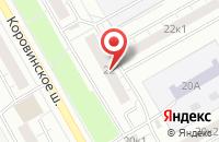 Схема проезда до компании Сервис-Строй в Москве