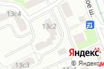 Схема проезда до компании Шелепихинское шоссе 13 в Москве