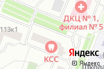 Схема проезда до компании Клиническая медицина в Москве