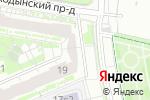 Схема проезда до компании Пирамида в Москве