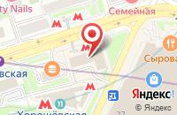 Схема проезда до компании Постав в Москве
