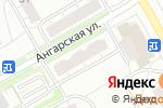Схема проезда до компании Магазин нижнего белья на Ангарской в Москве