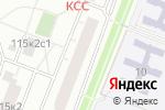 Схема проезда до компании Марафет в Москве