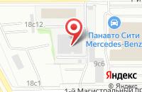 Схема проезда до компании Орфикс в Москве