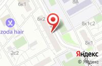 Схема проезда до компании Люксгарден в Москве