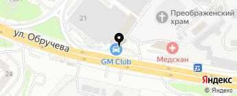 LexTo на карте Москвы