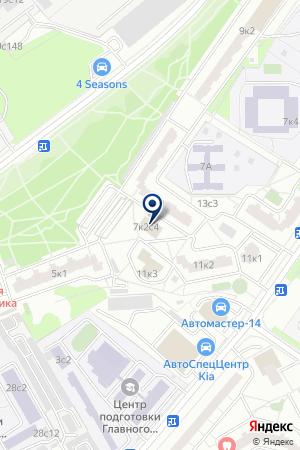 У Татьяны на карте Москвы