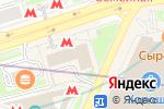 Схема проезда до компании TERVOLINA в Москве