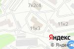 Схема проезда до компании Инженерная служба Дмитровского района в Москве