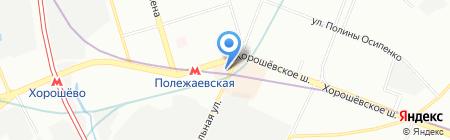 Аспект Риэлт на карте Москвы
