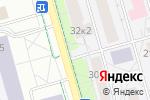 Схема проезда до компании Стардог!s в Долгопрудном