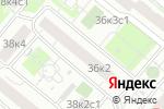 Схема проезда до компании Детский клуб Сами с усами в Москве