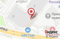 Схема проезда до компании Призмонт - Металл в Москве