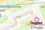 Схема проезда до компании Страховые решения в Москве