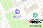 Схема проезда до компании Элит Скай в Москве