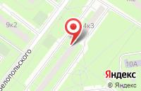 Схема проезда до компании Полигран в Москве