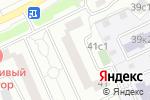 Схема проезда до компании Мосстройэксплуатация в Москве