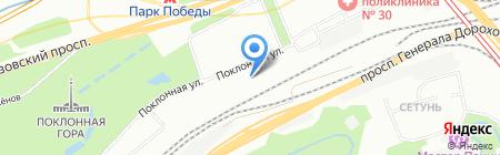 Гидроремсервис на карте Москвы