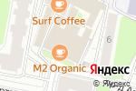 Схема проезда до компании Территория цветов в Москве