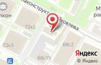 Схема проезда до компании Гера в Ярославле