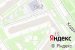 Схема проезда до компании ФУНДАМЕНТСТРОЙ-6 в Москве