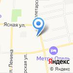 Магазин хозяйственных товаров на карте Щёкино