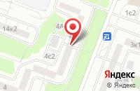 Схема проезда до компании Инвест-Эстейт в Москве