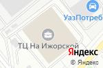 Схема проезда до компании Parker Hannifin в Москве