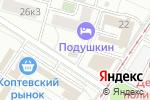 Схема проезда до компании Камтех в Москве