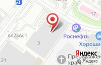 Схема проезда до компании Ратники в Москве