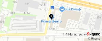 РОЛЬФ Центр на карте Москвы