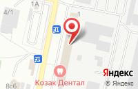 Схема проезда до компании Росгосстрах в Климовске