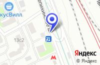 Схема проезда до компании МЕБЕЛЬНАЯ КОМПАНИЯ ТЕХИНДУСТРИЯ-М в Москве
