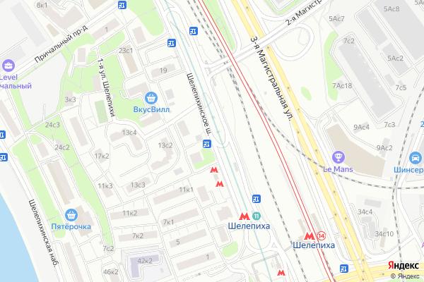Ремонт телевизоров Шелепихинское шоссе на яндекс карте