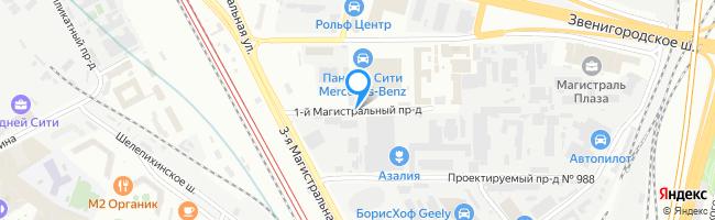 проезд Магистральный 1-й