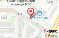 Схема проезда до компании ОК Пресс в Москве