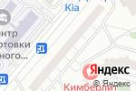 Схема проезда до компании Карепрост.ру в Москве