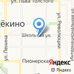Русский Свет на карте Щёкино