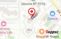 Схема проезда до компании Пчела И в Москве