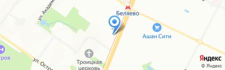 ВСЕ ДЛЯ ОТЕЛЯ на карте Москвы
