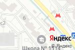 Схема проезда до компании Басмастерс в Москве