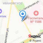 Средняя общеобразовательная школа №19 на карте Подольска