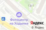 Схема проезда до компании Фемина лайт в Москве