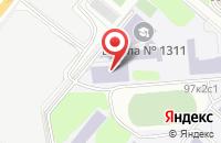 Схема проезда до компании Софтдизайн в Москве