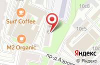 Схема проезда до компании Компания Артателье в Москве